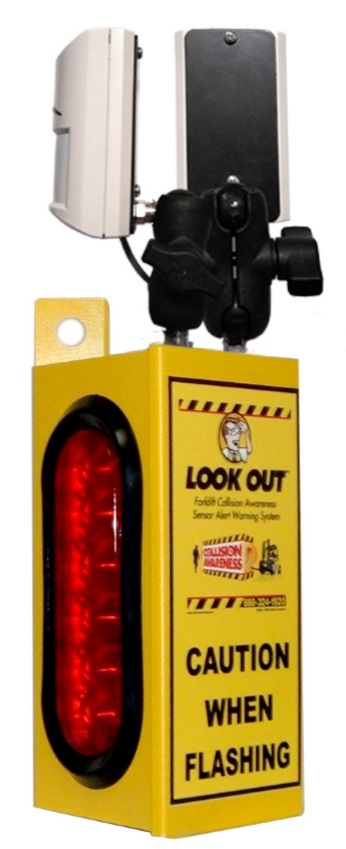 Look Out 1 Collision Awareness Sensor Alert Warning System