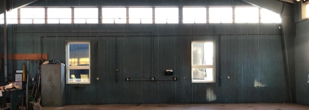Unused Space at a Nicor Gas Warehouse