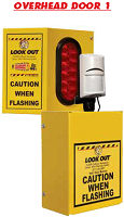 Overhead Door 1 Collision Awareness Sensor Alert Warning System