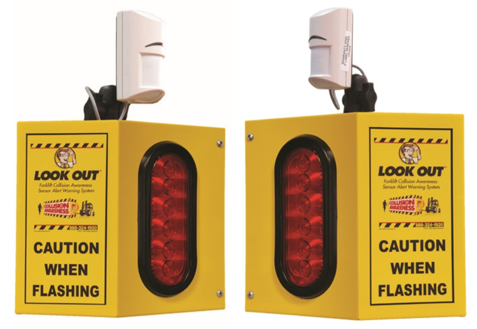 Overhead Door 2 Collision Awareness Sensor Alert Warning System