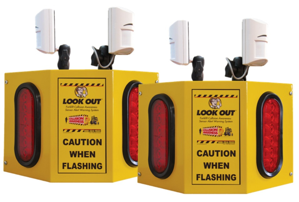 Overhead Door 4 Collision Awareness Sensor Alert Warning System