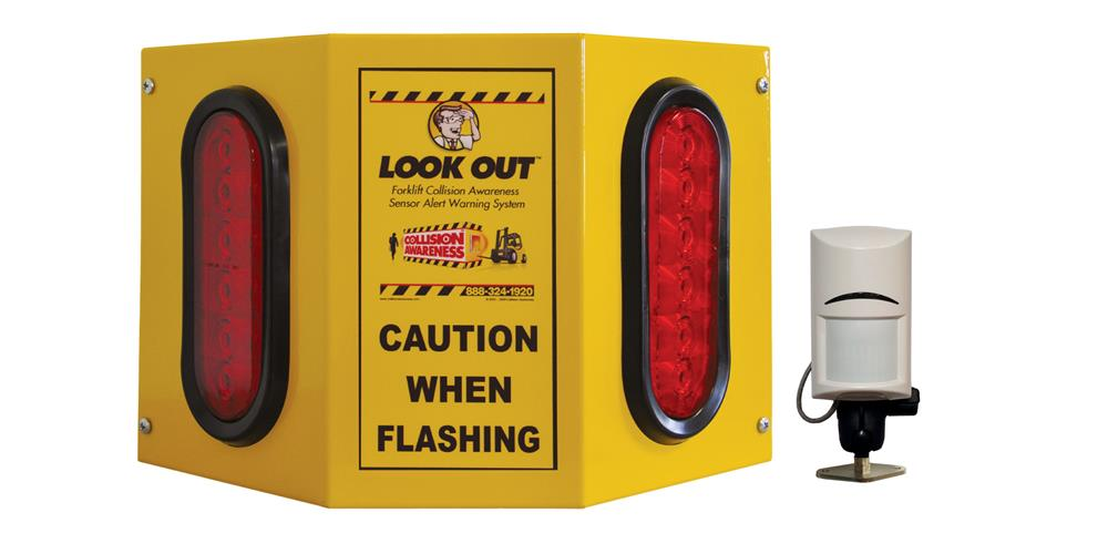 Overhead Door Basic Double Collision Awareness Sensor Alert Warning System
