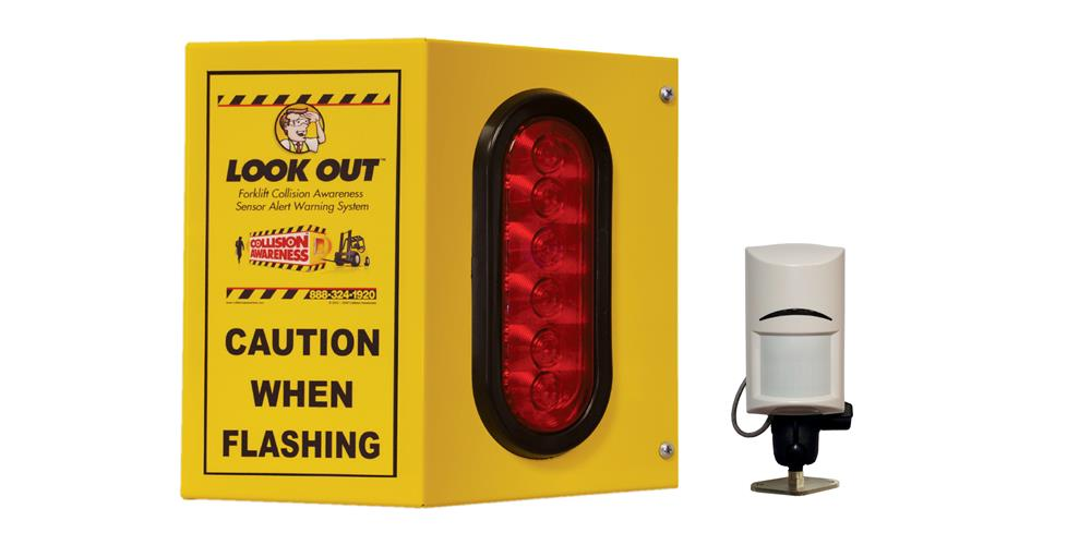 Overhead Door Basic Single Collision Awareness Sensor Alert Warning System