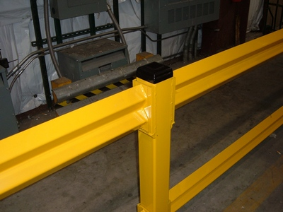 """Save""ty Yellow Stand Guard™ Lite Guard Rail"