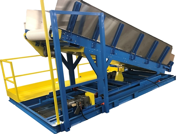 Laundry Conveyor Transfer Shuttle Cart