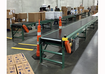 Conveyor line for online sales