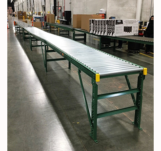 Conveyor used for online ordering