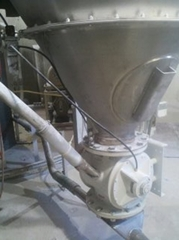 Dry Bulk Vacuum Pneumatic Conveying Equipment for the bakery, pasta, tortilla, snack food, municipal waste water treatment, chemical industries, food, paperboard, paint, fertilizer, plastic recycling industries