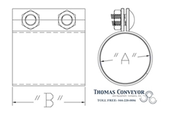 Morris Couplings Pneumatic Conveying Tube Pipe diagram