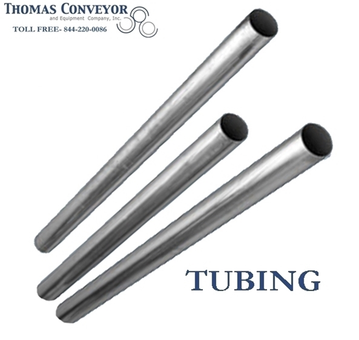 Pneumatic Conveying Tube Tubing Aluminum, Stainless Steel, Carbon, Galvanized; 11 gauge, 14 gauge, 16 -gauge, 20 foot lengths long; are systems that propel cylindrical containers through networks of tubes by compressed air or by partial vacuum