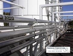 Pneumatic Conveying Long Sweep Elbows moves dry bulk materials through a curve