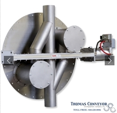 Scale hopper pneumatic conveying diverter valve Lorenz; Activated Carbon; Black; PET Polyethylene; Terephthalate; HDPE; High Density Polyethylene; PVC Polyvinyl Chloride; LDPE Low Density Polyethylene; PP Polypropylene; PS Polystyrene; Polycarbonate; Acrylics; Acrylonitrile Butadiene StyreneABS; Nylon; Phenolic; Styrene;