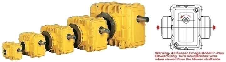 Kaeser-Omega-Plus-Blowers;-Models-21P;-22P;-23P;-24P;-41P;-42P;-43P;-52P;-53P;-62P;-63P;-64P;-82P;-83P;-84P;-Tri-Lobe-Positive-Displacement-Blower;-Model-Omega-Plus-83P;