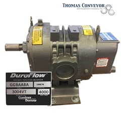 3004VT; Duroflow Blower; Pressure Vacuum; Schwitzer; Model GGBAABA; 184676;