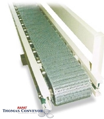 Rapat Bulk Handling Series V/HDV Conveyor can be used in bag positioning and turning operations
