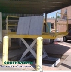 Loading Dock Lifts are the best solution for loading or offloading trucks for a ground level application