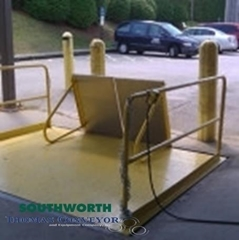 Loading Dock Scissor Lifts can save the high cost of loading dock construction, and work from any truck bed level to grade level while handling stable loads quickly and safely