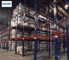 Pallet Rack Systems - Frazier are a material handling storage system designed to store products and materials on wood pallets in horizontal rows and vertical levels