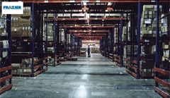 Pallet Racking  have horizontal beams attached to vertical upright frames, creating industrial shelving to support pallets of material that can be accessed by forklifts