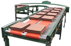 Roach 24 Volt Motor Driven Roller Smart Conveyor (MDR) or motor driven roller conveyor sets the standard in material handling flexibility. Its key is the use of a motorized roller that powers each zone or segment of the conveyor