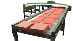 The MDR conveyor's key feature is the use of a motorized roller that powers each zone or segment of the conveyor
