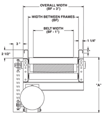Roach Model 725TB Overhead Diagram