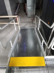 Mezzanine Ramp for multi level access