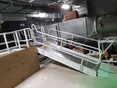 Work Platform Ramp custom made to access different levels
