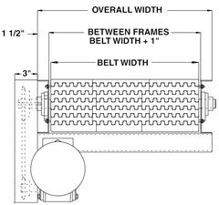 Model 700PB Width Schematic