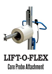 The LIFT-O-FLEX Core Probe, Wheeled Core Probe, used for heavy duty applications.