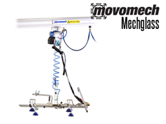 RonI Mechglass Glass Handling Crane System and End Effector