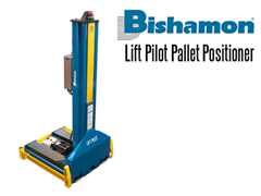 Lift Pilot Pallet Positioner lifts pallets and skids easily while being compact in size