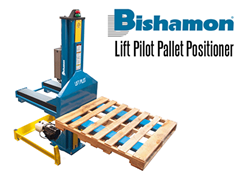 Bishamon Lift Pallet Position has the smallest footprint/size in the industry