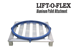 The LIFT-O-FLEX™ Aluminum Pallet Extension can also be used a workstation.