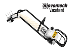 The RonI Vacuhand is an attachment that can be used on the Movomech™ Rail or Crane system