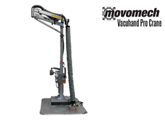 The Vacuhand Pro Crane™ combines the Mechline Pro Crane™ and the Vacuhand Tube Lifter. giving you a complete stand-alone lifting solution for fast and easy ergonomic lifting.