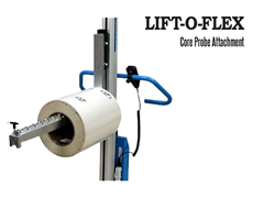 LIFT-O-FLEX™ Core Probe Attachment. Contact a Thomas Conveyor ergonomic engineer to find out which end effectors would provide the optimal solution to your ergonomic lifting application.