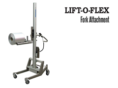 LIFT-O-FLEX™ Fork Probe Attachment. Contact a Thomas Conveyor ergonomic engineer to find out which end effectors would provide the optimal solution to your ergonomic lifting application.