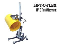 LIFT-O-FLEX™ Lift-O-Turn™ Attachment. Contact a Thomas Conveyor ergonomic engineer to find out which end effectors would provide the optimal solution to your ergonomic lifting application.