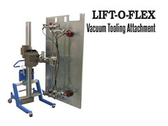 LIFT-O-FLEX™ Vacuum Tooling. Contact a Thomas Conveyor ergonomic engineer to find out which end effectors would provide the optimal solution to your ergonomic lifting application.