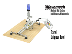 Movomech™ Panel Handling Tooling/Attachment. Contact a Thomas Conveyor ergonomic engineer to find out which end effectors would provide the optimal solution to your ergonomic lifting application.