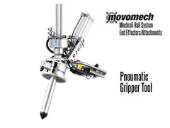 Movomech™ Pneumatic Gripper Tooling/Attachment. Contact a Thomas Conveyor ergonomic engineer to find out which end effectors would provide the optimal solution to your ergonomic lifting application.