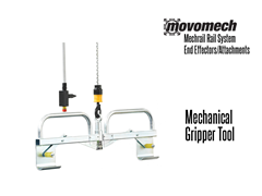 Movomech™ Mechanical Gripper Tooling/Attachment. Contact a Thomas Conveyor ergonomic engineer to find out which end effectors would provide the optimal solution to your ergonomic lifting application.