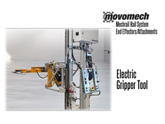 Movomech™ Electric Gripper Tooling/Attachment. Contact a Thomas Conveyor ergonomic engineer to find out which end effectors would provide the optimal solution to your ergonomic lifting application.