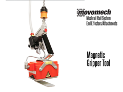 Movomech™ Magnetic Gripper Tooling/Attachment. Contact a Thomas Conveyor ergonomic engineer to find out which end effectors would provide the optimal solution to your ergonomic lifting application.