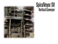SpiralVeyor SV Vertical Conveyor