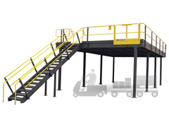 Picture for category Mezzanines & Industrial Work Platforms