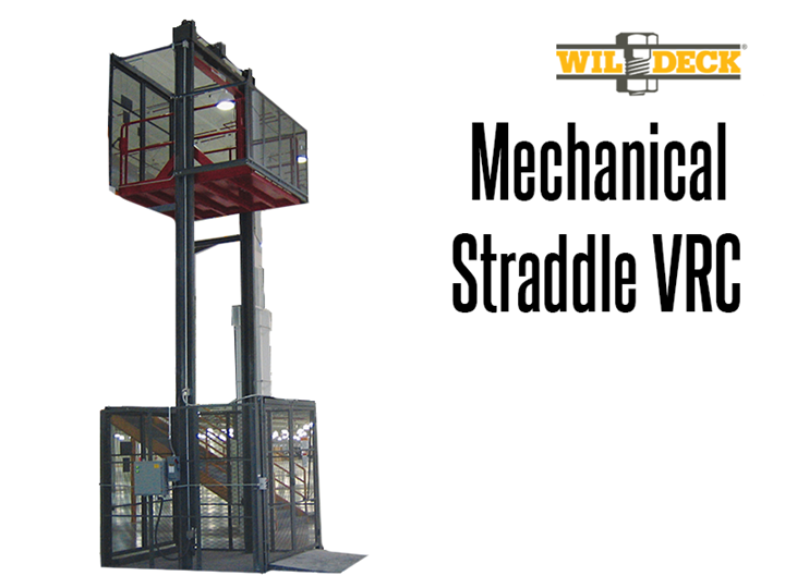 "The Mechanical Straddle VRC showcases a 2 straddle configuration allowing the choice of a ""C"" or ""Z"" loading or unloading pattern."
