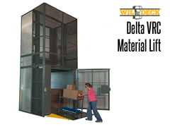 Picture for Delta Vertical Reciprocating Conveyor Material Lift