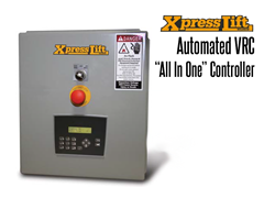 "XpressLift™ VRC Standard ""All-In-One"" Interactive Controller with Text Display"
